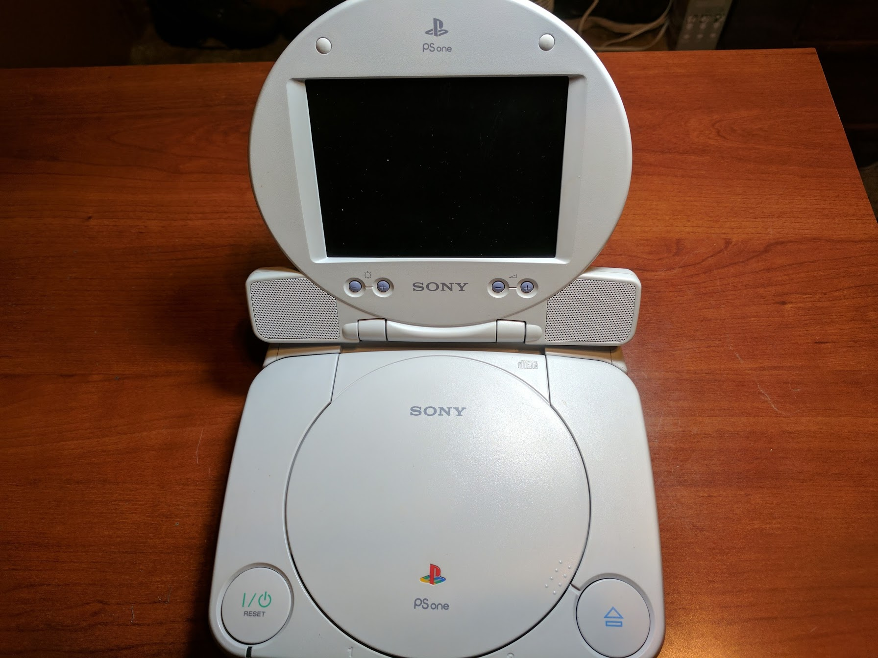 PSone with LCD
