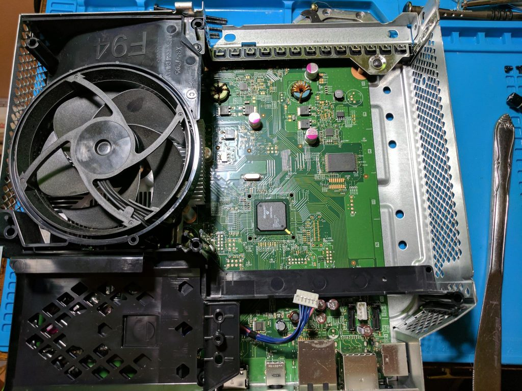 Disc drive removal