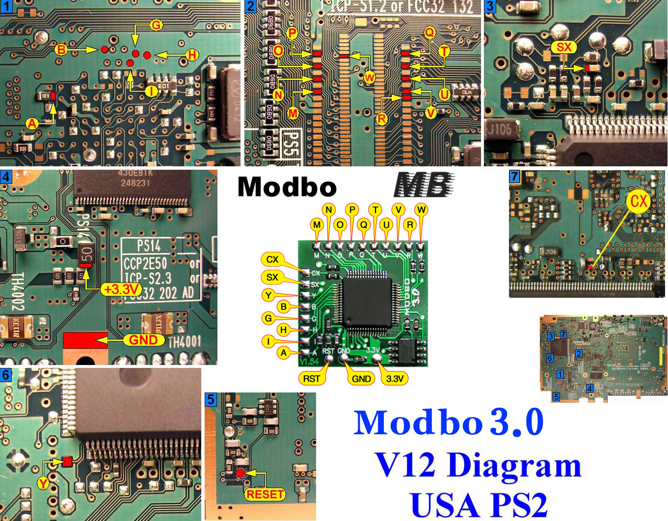 Modbo 4.0 V12 PS2 diagram