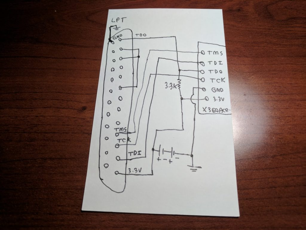 X360Ace LPT wiring diagram