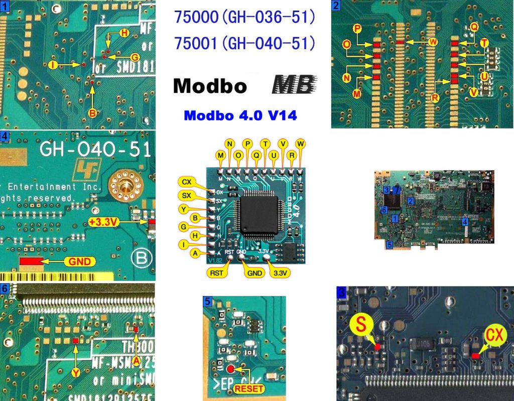 V14 Modbo installation diagram