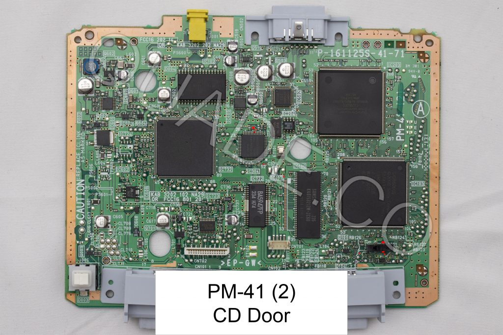 PM-41 (2) CD door point in red