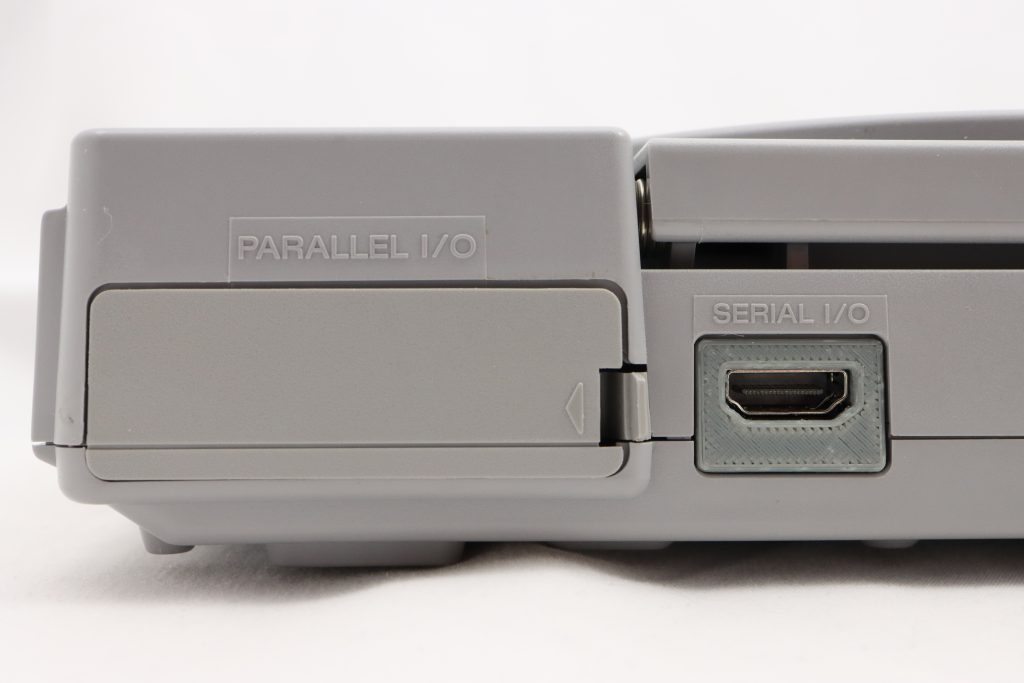 PS1Digital HDMI output port